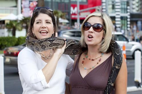 Beth & Jenn& Snake