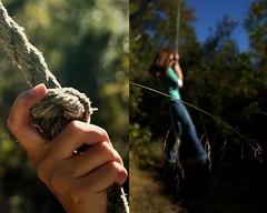 Day 73: Swinging High (willowforlife) Tags: portrait fall girl fun rope swing 365 tulsa a330