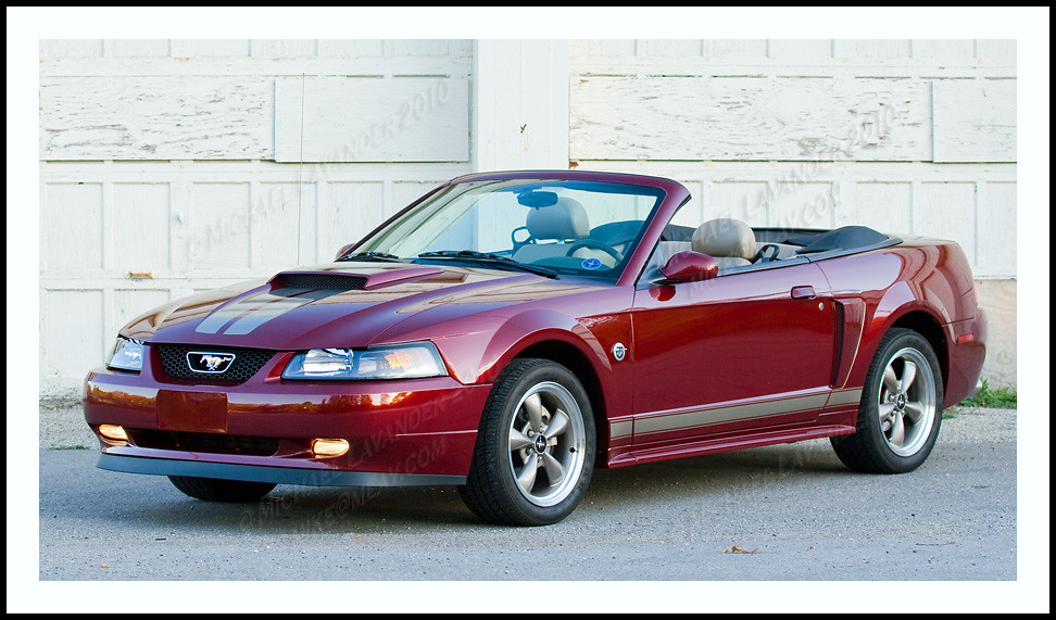 2004 40th Anniversary Mustang GT Convertible