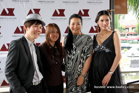 Xavier, Shirley How, Florence Cho & Amber