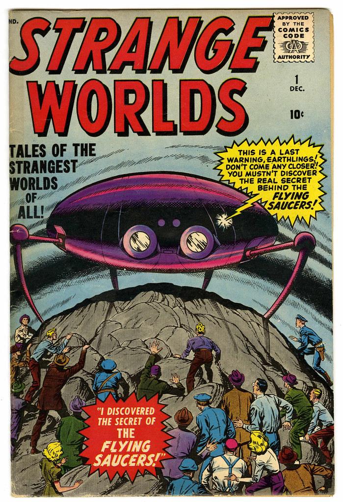 Strange Worlds #1 (Atlas Comics)