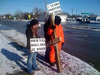 Winter 2008/2009 Anti-Torture Vigil