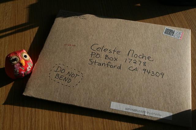 my P.O. Box... *hint hint* ;)