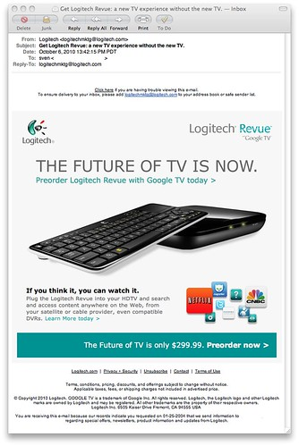Get Logitech Revue: a new TV experience without the new TV. — Inbox