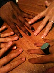 Nails done with posse ppl!