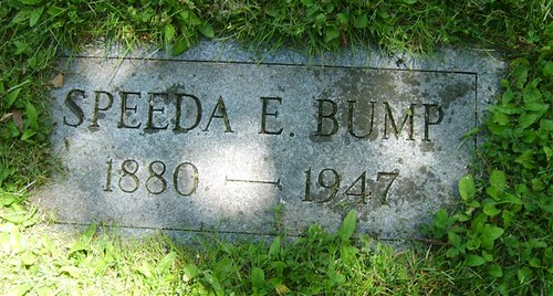 speeda bump tombstone