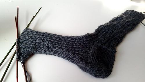 Francie socks for BF wip