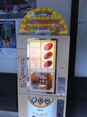 Odawara Castle Elongated Coin machine
