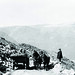1908 - '11 - A changing era as the Carriage Road slowly became the Auto Road. Guy Shorey photo courtesy of the Mount Washington Observatory