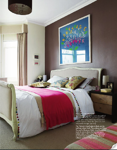 Holly Aird bedroom