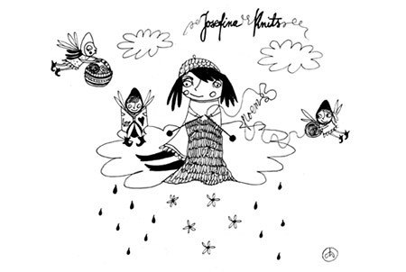 Friends of Nitinha - Gabriela Ordenes and her Josefina Knits by good mood factory