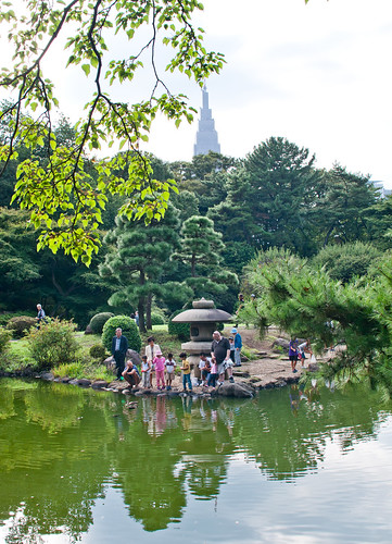 My favorite corner at Shinjuku Gyoen