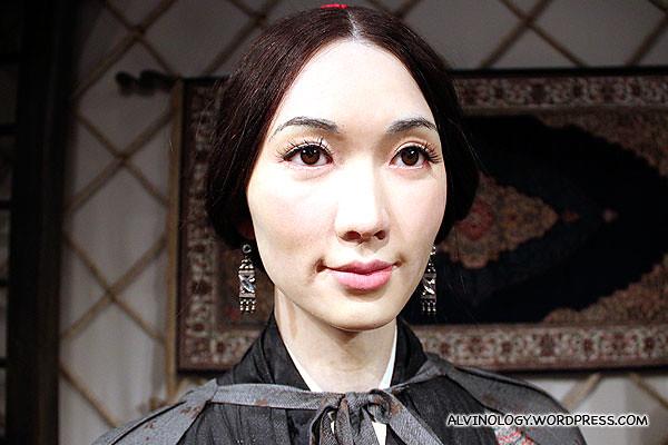Taiwanese model-turned-actress, Lin Chi-Ling