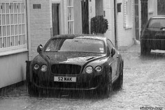 Bentley GCT Supersports (Niels de Jong) Tags: bw white black london sports rain canon eos sigma continental super exotic gt supercar bentley conti gct supersport supersports 1820 nielsdejong 1000d ndjmedia