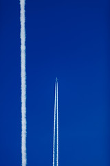Cloud Construction Two (Henry Leirvoll) Tags: norway clouds airplane fly contrail airplanes aeroplane norwegian chemtrail sas contrails chemtrails himmelen aeroplanes norsk karmy flystriper