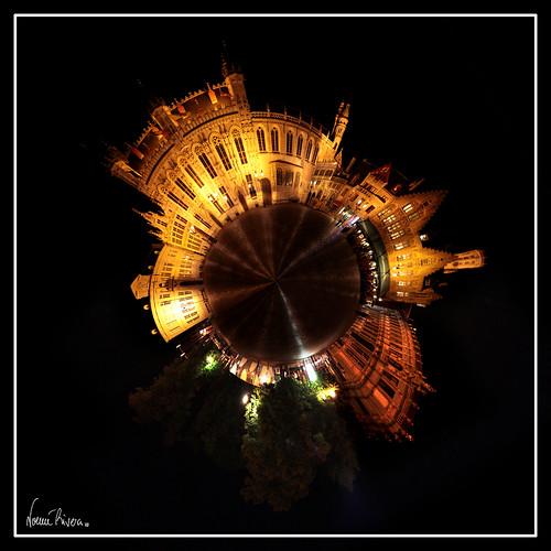 Minimundo Plaza Burg (Brujas)
