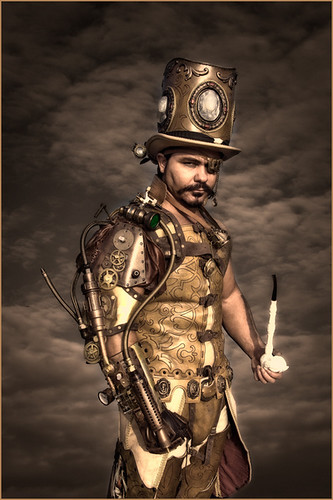 steampunk gold.