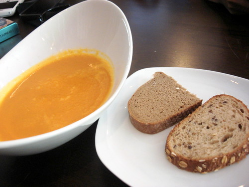 Brotzeit MV - carrot soup