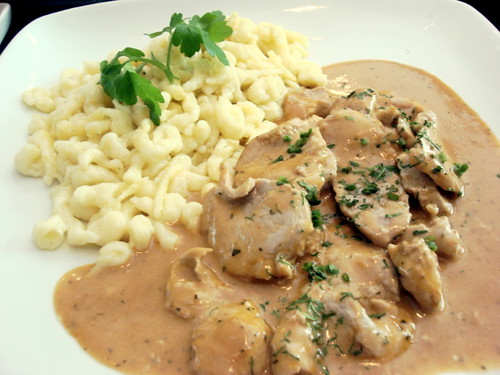 Brotzeit MV - pork fillets with homemade noodles