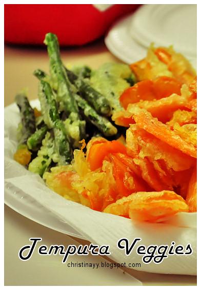 Pre-Birthday Preparation: Tempura Veggies