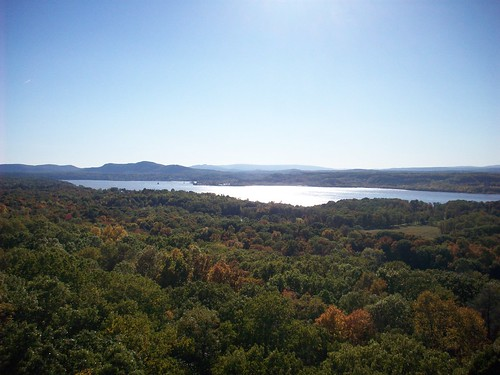 fire tower view of hudson