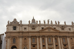 St. Peter's Basilica0816.jpg (ups80kft) Tags: vacation italy vatican roma church canon geotagged europe ita lazio stpetersbasilica gtaggroup