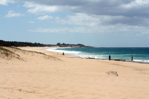 Exploring Papohaku Beach on the West Side of Molokai