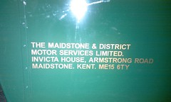 Lettering (The Maidstone & District Preservation Group) Tags: lynx leyland 3043 e887kyw