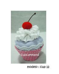 cupcake tecido mod.12 (Cupcakes de tecido Cupcakeland) Tags: cupcakes decorao presentes sache lembrancinhas alfineteiro agulheiro cupcakefeltro docesdefeltro cupcakedetecido lembranaparach lembranaparacasasamento docesemfeltro docesemtecido