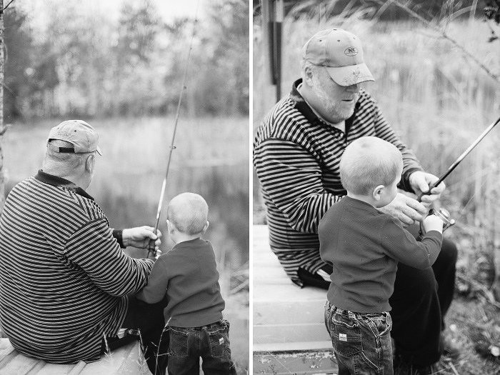 {Dennis + Lucas Fishing}