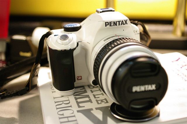 goodbye to Pentax K-x White