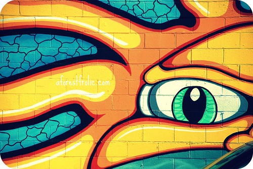 Sunny San Diego graffiti