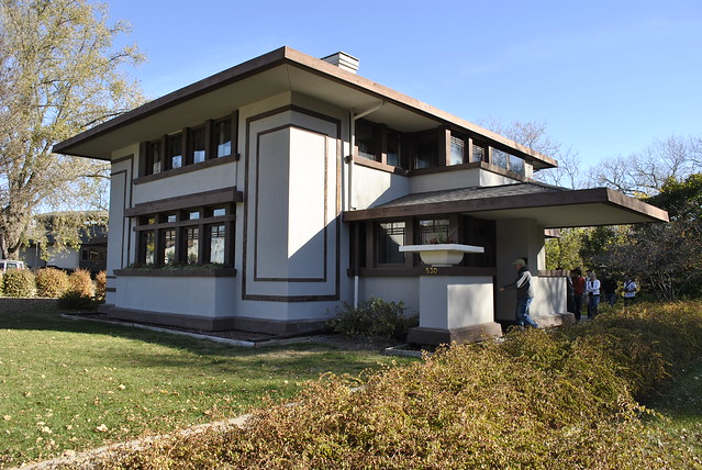 Frank Lloyd Wright's Stockman House in Mason City, IA