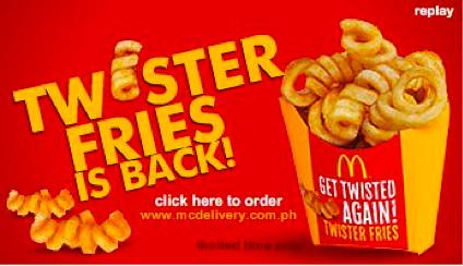 McDonald's Twister Fries is Back!