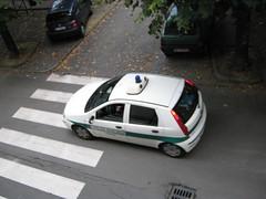 Fiat Punto (TAPS91) Tags: punto fiat polizia municipale comune beinasco