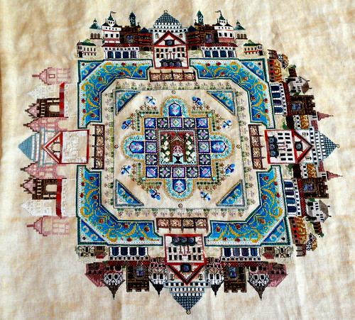 Medieval Town Mandala as of 10/15/2010