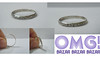 aliancinha prata 925 (omgbazar) Tags: vendo brinco loja bazar compras aliança anel prata marfin prata925