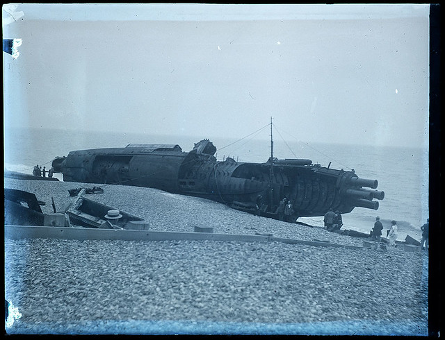 What I have found is that after World War 1 a batch of submarines was being