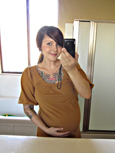 good morning! 9 months pregnant :)