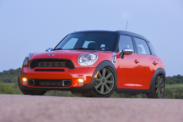 photoshop mini cooper r60 countryman