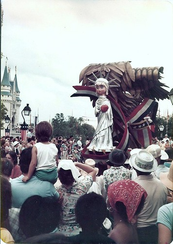 Bicentennial Parade at the Magic Kingdom at Walt Disney World