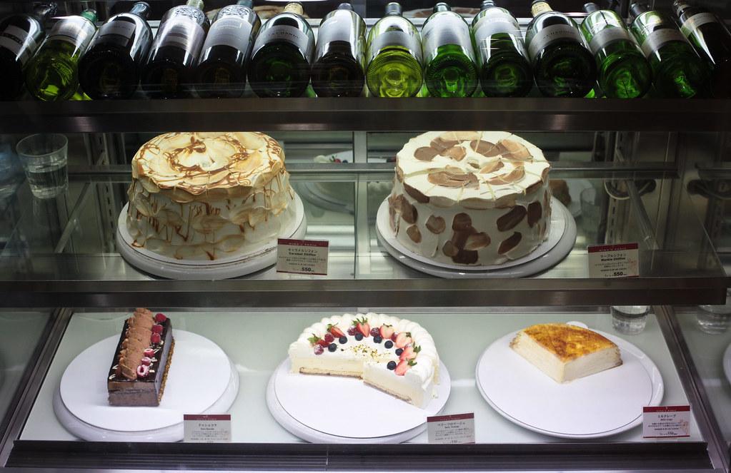 Cakes at Namba Parks