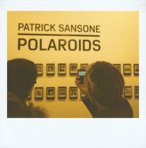 "THE IMPOSSIBLE PROJECT NYC Party for Patrick Sansone's book ""100 Polaroids."""