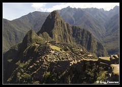 Machu Picchu (Gregg Zimmerman) Tags: travel history classic peru machu picchu inca town site ruins famous perú nikond50 historical machupicchu archeology archeological sevenwondersoftheworld 7wondersoftheworld dsc7495