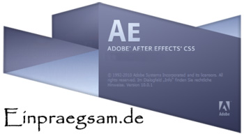 After Effects Tutorials auf Einpraegsam.de