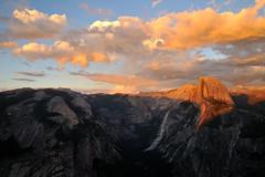 Glacier Point Sunset (J-Fish) Tags: sunset unescoworldheritagesite unesco yosemite halfdome yosemitenationalpark glacierpoint yosemitevalley northdome tenayacanyon d300s 1685mmf3556gvr 1685mmvr