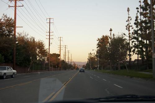 driving, orange