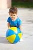 200mm Week: 286-365 (Daniel A Ruiz) Tags: blue boy playing cute yellow ball lifting project365