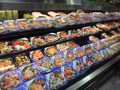 Sushi at Giant Eagle Market District Kingsdale