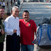 Rahm Emanuel at the Columbus Day Parade